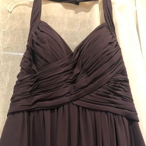Bill Levkoff Purple Gown